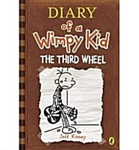 Dairy of a Wimpy Kid #7 : The Third Wheel (Hardcover, 영국판)