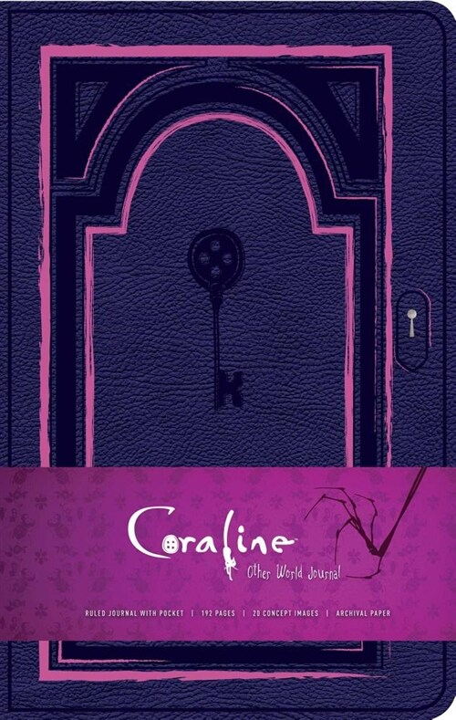 Coraline Hardcover Ruled Journal (Hardcover)