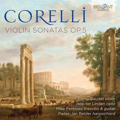 [수입] 코렐리 : 바이올린 소나타 Op.5 [2CD]