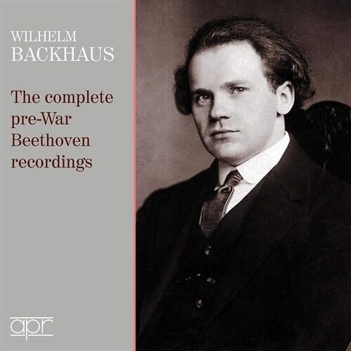 [수입] 빌헬름 박하우스 - 세계대전 전 베토벤 녹음집 [2CD]