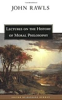 [중고] Lectures on the History of Moral Philosophy (Paperback)