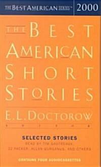 The Best American Short Stories 2000 (Audio Cassette, 2000)