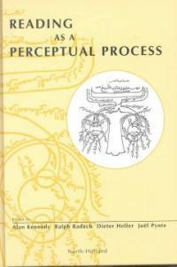 Reading as a perceptual process 1st ed
