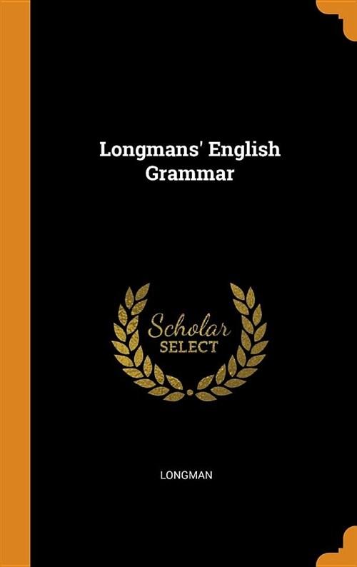 Longmans English Grammar (Hardcover)