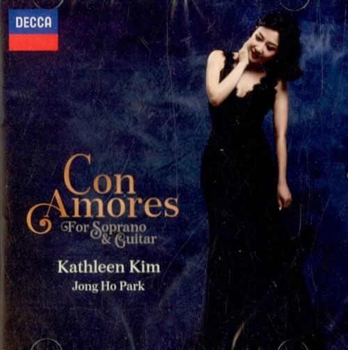 콘 아모레스 - 소프라노와 기타를 위한 작품