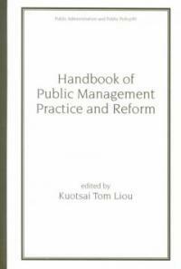 Handbook of public management practice and reform