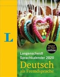 Langenscheidt Sprachkalender 2020 Deutsch - German 2020 Day-To-Day Calendar (Monolingual German) (Daily)