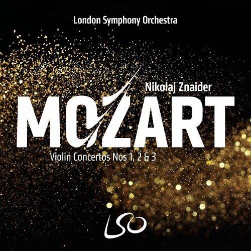 [수입] 모차르트 : 바이올린 협주곡 1-3번 [SACD Hybrid]