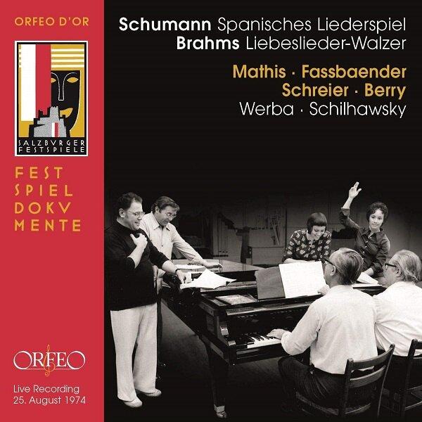 [수입] 슈만 : 스페인 노래극 / 브람스 : 사랑의 노래 왈츠 op.57