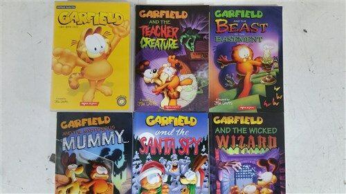 GARFIELD 챕터북 시리즈(책5권+시디5장)