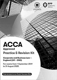 ACCA Corporate and Business Law (English) : Practice and Revision Kit (Paperback)