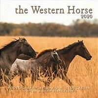 Western Horse 2020 Calendar (Calendar, Wall)