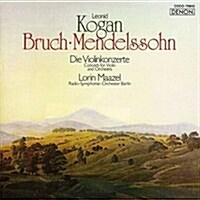 [수입] Leonid Kogan - 멘델스존: 바이올린 E 단조 & 브루흐: 바이올린 협주곡 1번 (Mendelssohn: Violin E minor Concerto & Bruch: Violin Concerto No.1) (Blu-spec CD)(일본반)