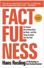 Factfulness: Ten Reasons We're Wrong about the World--And Why Things Are Better Than You Think (Paperback)