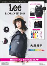 Lee BIG BACKPACK BOOK BLACK ver.