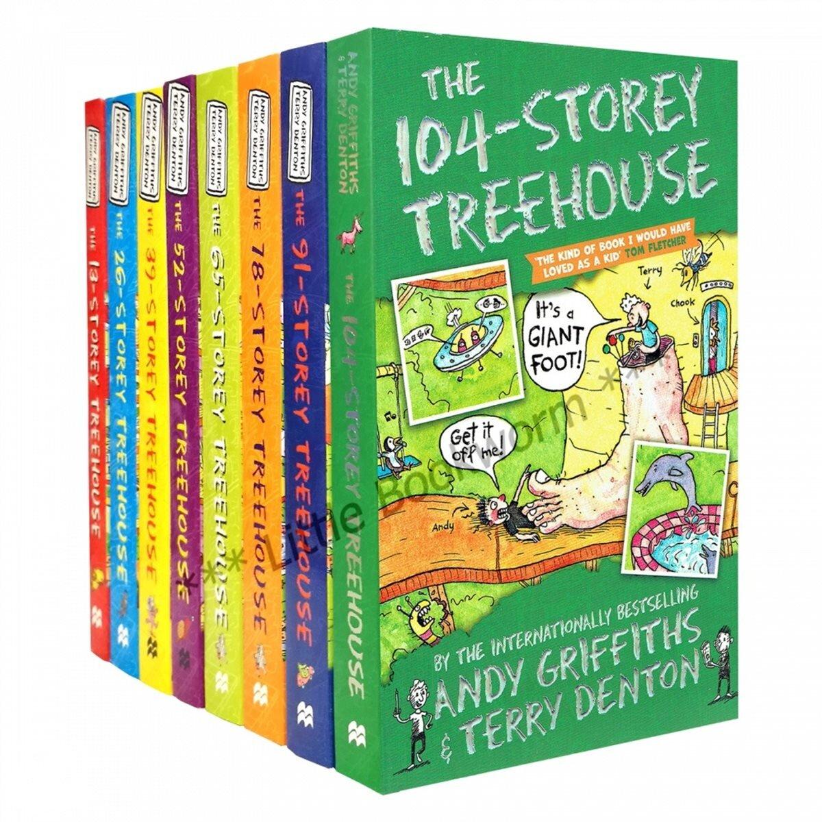 13층 나무집 시리즈 8종 세트 (Paperback 8권 + Slipcase, 영국판)