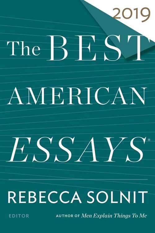 The Best American Essays 2019 (Paperback)