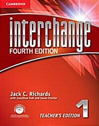 Interchange Level 1 Teachers Edition with Assessment Audio CD/CD-ROM (Package, 4 Revised edition)