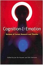 Cognition & Emotion : Reviews of Current Research and Theories (Paperback)