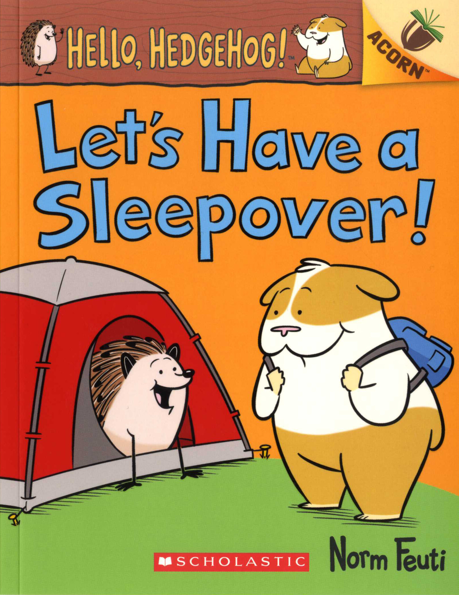 Hello, Hedgehog! #2 : Lets Have a Sleepover! (Paperback)