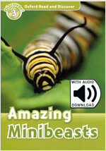 Oxford Read and Discover: Level 3: Amazing Minibeasts Audio Pack (Package)
