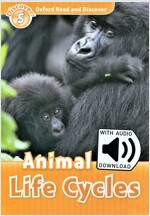 Oxford Read and Discover: Level 5: Animal Life Cycles Audio Pack (Package)