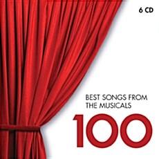 [수입] 100 Best Songs from Musicals [6CD]