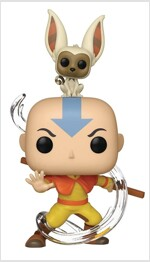 Pop Avatar Aang with Momo Vinyl Figure (Other)