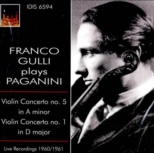 [수입] 프랑코 굴리가 연주하는 파가니니