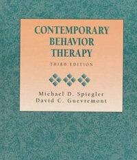 Contemporary behavior therapy 3rd ed