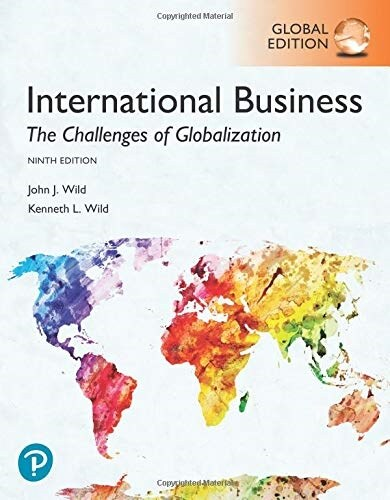 International Business: The Challenges of Globalization, Global Edition (Paperback, 9 ed)
