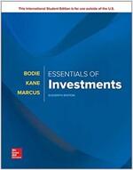 Essentials of Investments (Paperback, 11 ed)