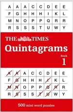 The Times Quintagrams : 500 Mini Word Puzzles (Paperback)