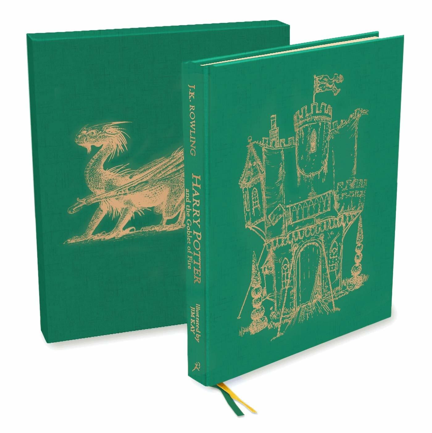 Harry Potter and the Goblet of Fire : Deluxe Illustrated Slipcase Edition (Hardcover)