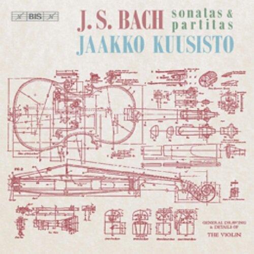[수입] 바흐 : 무반주 바이올린 소나타와 파르티타 전곡 BWV1001-1006 [2SACD Hybrid]