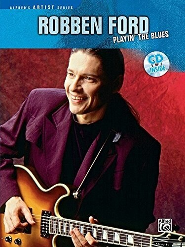 Robben Ford Playin the Blues (Paperback, Compact Disc)