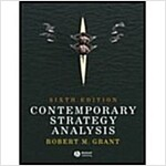 Contemporary Strategy Analysis with Cases (Paperback, 6th)