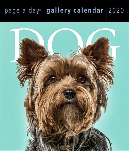 Dog Page-A-Day Gallery Calendar 2020 (Daily)