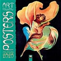 Art Nouveau Posters Wall Calendar 2020 (Art Calendar) (Calendar, New ed)