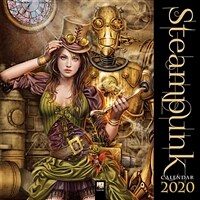 Steampunk Wall Calendar 2020 (Art Calendar) (Calendar, New ed)