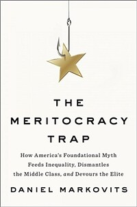 The Meritocracy Trap: How America's Foundational Myth Feeds Inequality, Dismantles the Middle Class, and Devours the Elite (Hardcover)