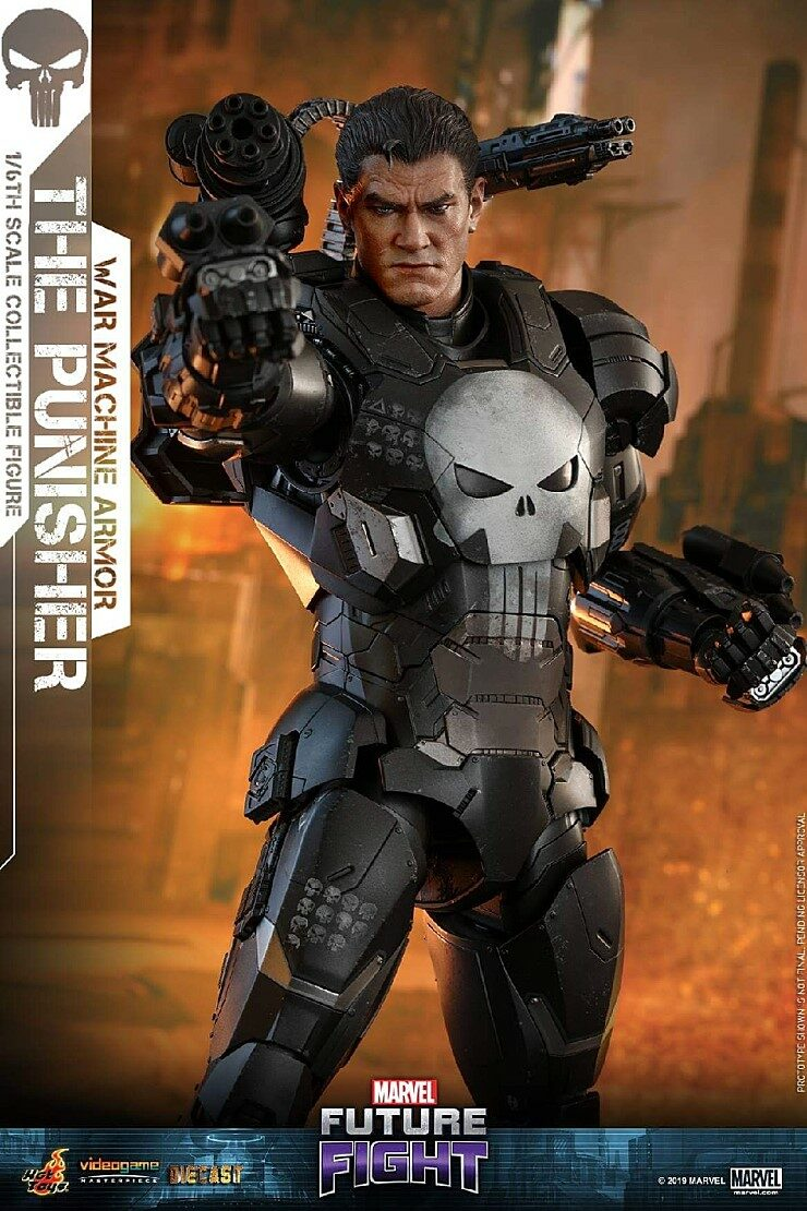[Hot Toys] 퓨쳐파이트 더퍼니셔 다이캐스트 VGM33D28 - 1/6th scale The Punisher (War Machine Armor) Collectible Figure