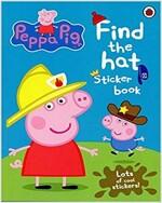 Peppa Pig : Find the hat (Sticker Book) (Sticker Book & Coloring Book)