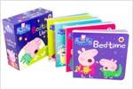 Peppa Pig : Bedtime Library 페파피그 배드타임 라이브러리 (Board book 4권)