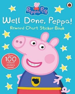 Peppa Pig : Well Done, Peppa! (Sticker Book & Coloring Book)