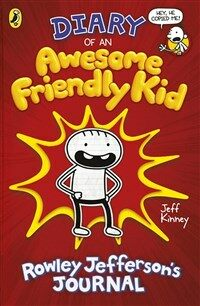 Diary of an Awesome Friendly Kid : Rowley Jefferson's Journal (Hardcover, 영국판)