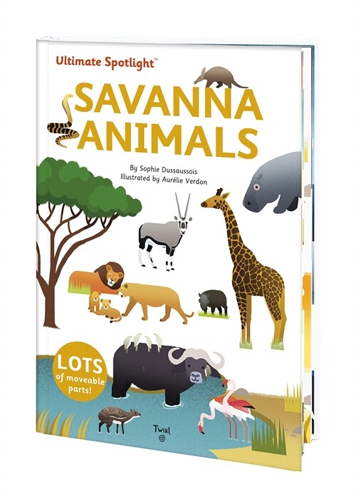 Ultimate Spotlight: Savanna Animals (Hardcover)