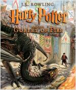 Harry Potter and the Goblet of Fire: Illustrated Edition, Volume 4 (Hardcover, 미국판)