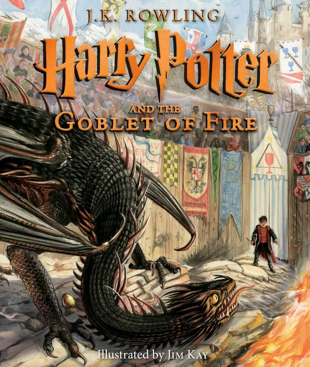 Harry Potter and the Goblet of Fire: The Illustrated Edition, Volume 4 (Hardcover)