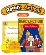 Pack-Ready Action 2E Starter Santa Is Stuck!